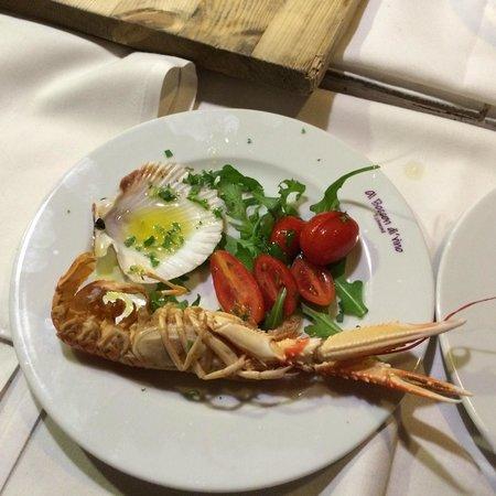Al Boccon Di'vino is Non Solo Vino: Delicious prawns