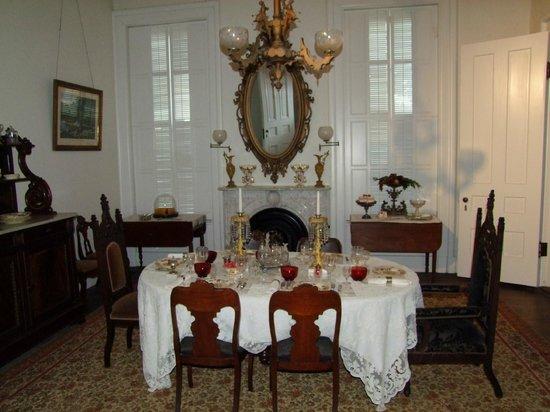 Rock County Historical Society: Tallman House Dining Room