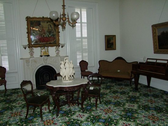 Rock County Historical Society: The room where Abraham Lincoln was originally received.