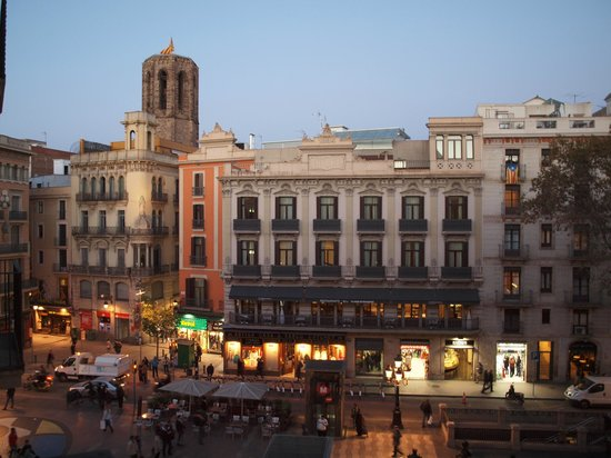 View From Our Window - Picture Of Hostal Mare Nostrum  Barcelona