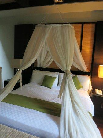 Le Jardin Villas, Seminyak: Master bedroom