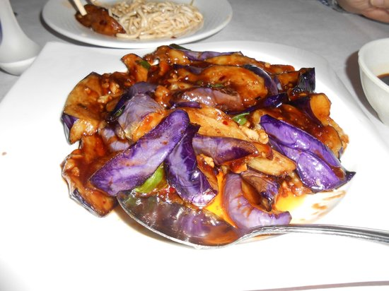 Baby eggplant in garlic sauce picture of 456 shanghai for 456 shanghai cuisine