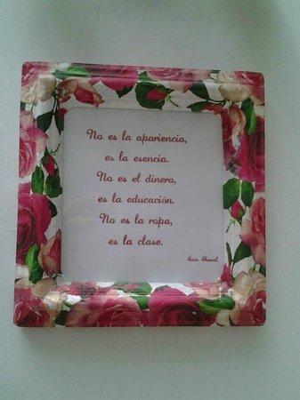 Doña Inés Dulces Tentaciones: Rodeado de detalles