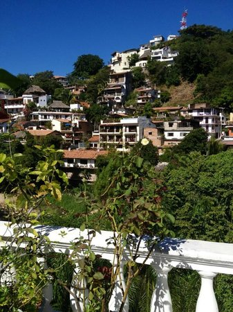 Rivera del Rio Boutique Hotel : View from the Alejandro