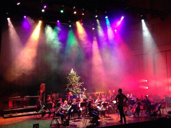 Conservatoire National a Rayonnement Regional: Concert de Noël, le dernier de l'année.