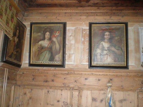 Hotel Albrici: Historische Gemälde