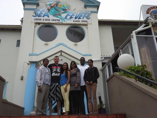 Sea Fever Lodge: Great staff