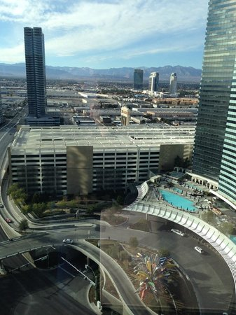 ARIA Resort & Casino: View from the 24th floor