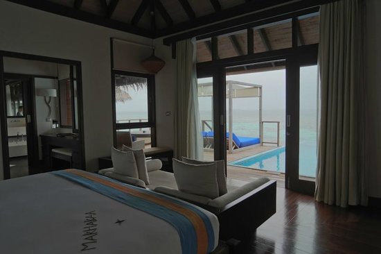 Coco Bodu Hithi: the bedroom