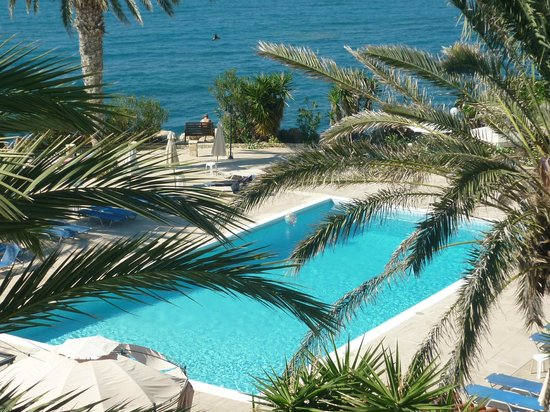 Vrachia Beach Resort: uitzicht kamer
