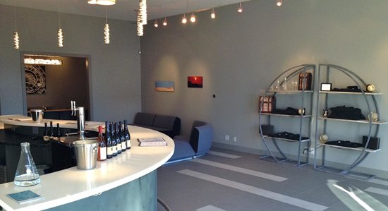 Cartograph Winery : New tasting room