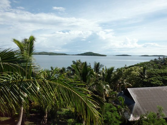 Wananavu Beach Resort: the view every morning
