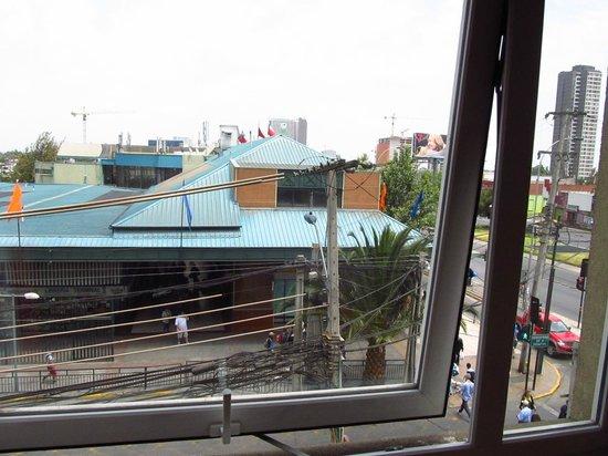 Ibis Santiago Estacion Central : ventana