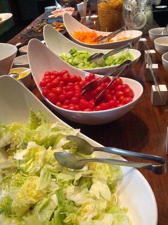 Renaissance Sanya Resort & Spa: Breakfast buffet.