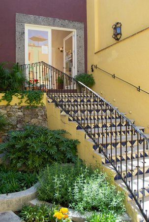 LifePath Center: Beautiful front stairs