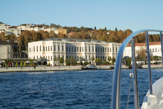 Four Seasons Istanbul at the Bosphorus: arrival by water