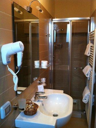 Hotel dei Macchiaioli: Shower