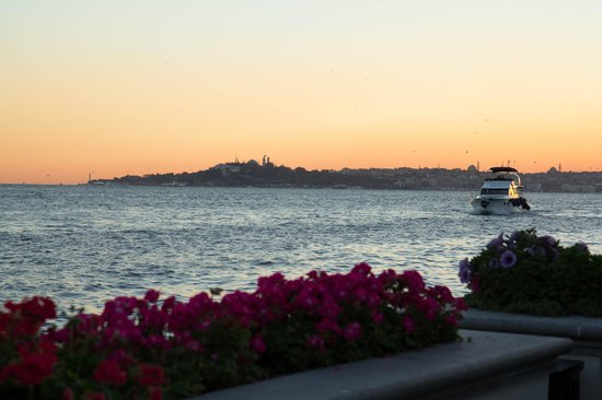 Four Seasons Istanbul at the Bosphorus: terrace view