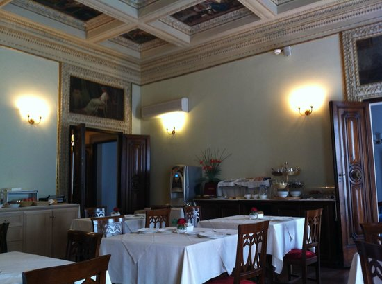 Hotel dei Macchiaioli: Breakfast room
