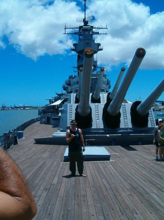 USS Arizona Memorial/WW II Valor in the Pacific National Monument : USS Missouri