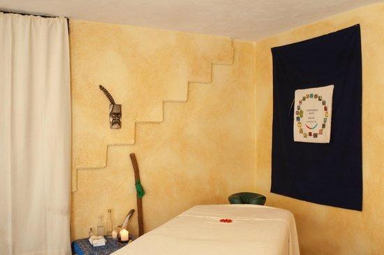LifePath Center: Mayan Massage area