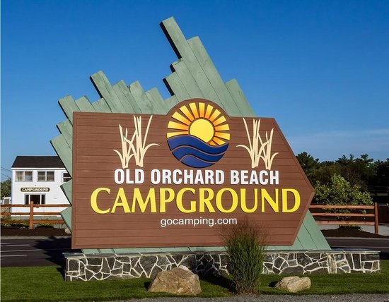 Old Orchard Beach Campground Entrance