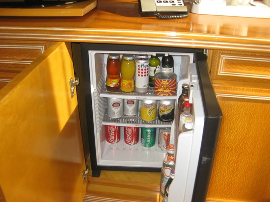 Crowne Plaza Dubai: Mini Bar