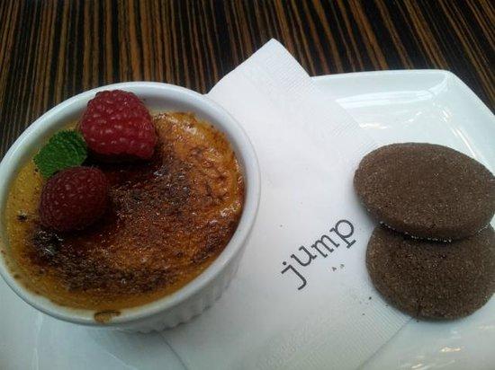 Jump Restaurant: Delectable Toffee Creme Brulee