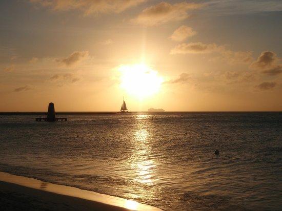Palm Beach : Romantico tramonto