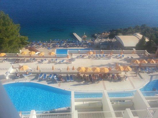 Sunshine Corfu Hotel & Spa : view from bar balcony