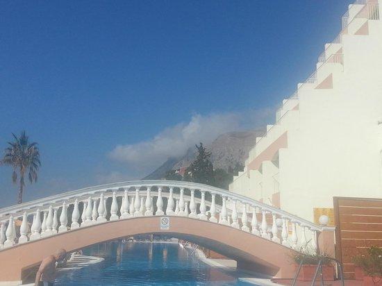 Sunshine Corfu Hotel & Spa: view from pool