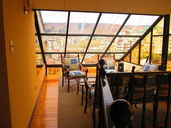 Elegance Hotel: hall en el piso 7mo.
