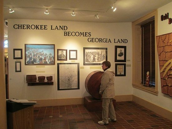 Dahlonega Gold Museum State Historic Site: Early area history