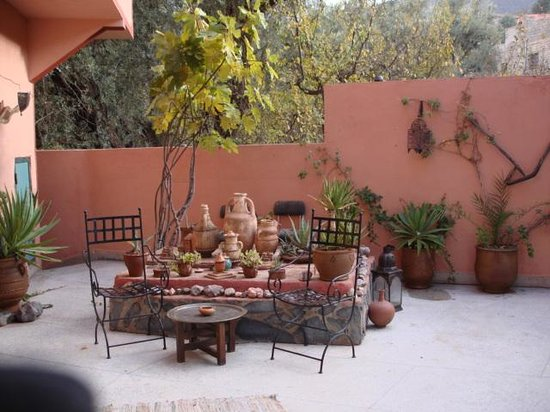 Villa de L'Atlas : a part of the garden