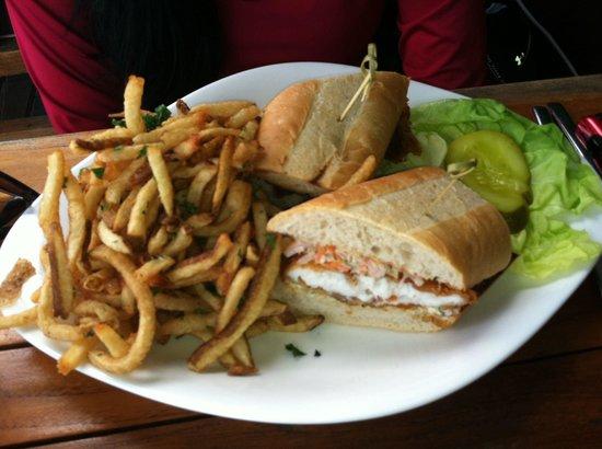 Steak 954 : Grouper  Sandwich