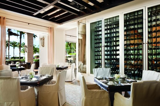 The Ritz Carlton Grand Cayman Seven Restaurant Is One Of Many On