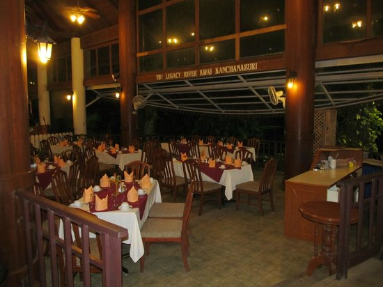 The Legacy River Kwai: salle a manger
