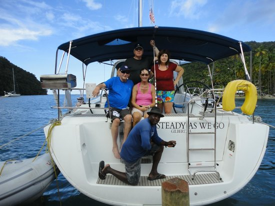 Binti Charters: Peter, Rosi, Peter, Christie, and Captain Joe November 2013