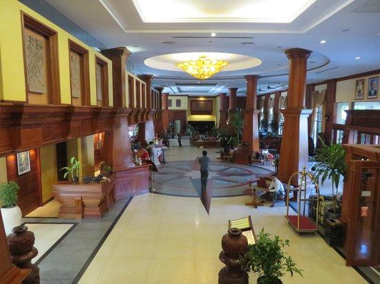 Prince D'Angkor Hotel & Spa: Recepción