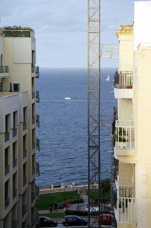 Plevna Hotel: Sea front view from Room's balcony