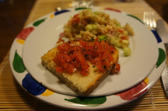 Poderi Val Verde - Chianti Cooking Lesson: Bruschetta al Pomodoro
