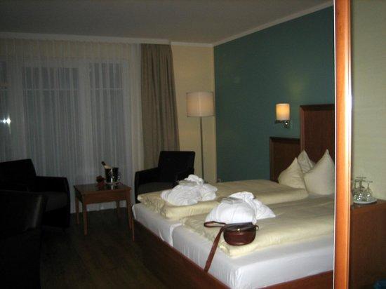 Strandhotel Baabe: Teilansicht Zimmer 416