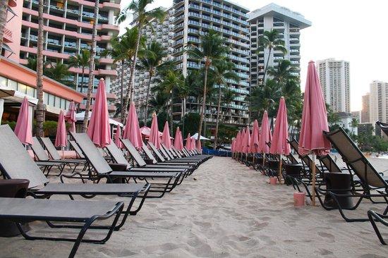 The Royal Hawaiian, a Luxury Collection Resort: 7:00 a.m. Waikiki Beach