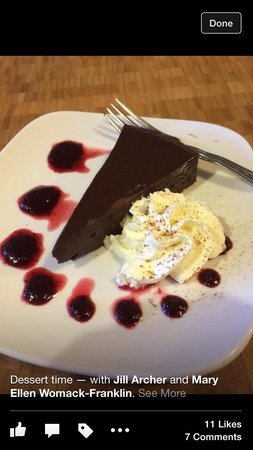 French Broad Chocolate Lounge: YUM!!