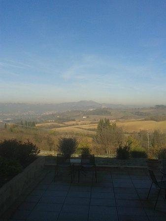 Borgobrufa SPA Resort: panorama