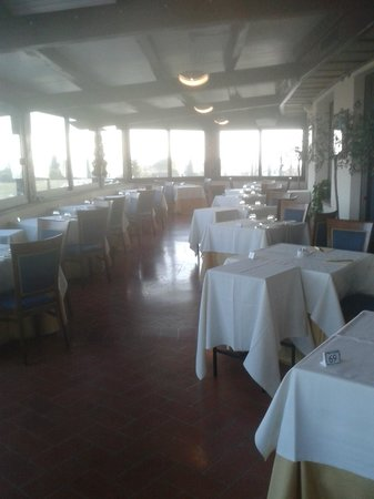 Borgobrufa SPA Resort: veranda ristorante