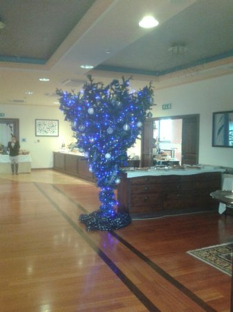 Borgobrufa SPA Resort: albero di natale