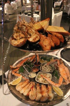 SALA Phuket Resort & Spa: Seafood platter