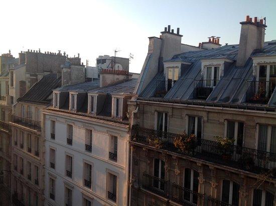 Hotel Atala Champs Elysees: tetti