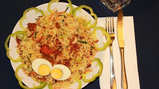 Radio Malabar : Chefs special Malabari dhum Byriani with your choice of meat/veg